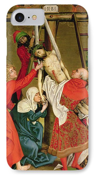The Deposition From The Altarpiece Of The Dominicans IPhone Case
