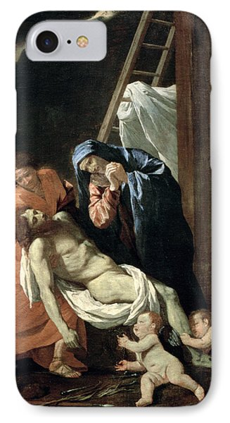 The Deposition Phone Case by Nicolas Poussin