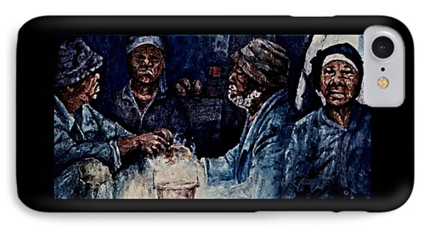 The  Desolation Of Poverty IPhone Case by Hartmut Jager