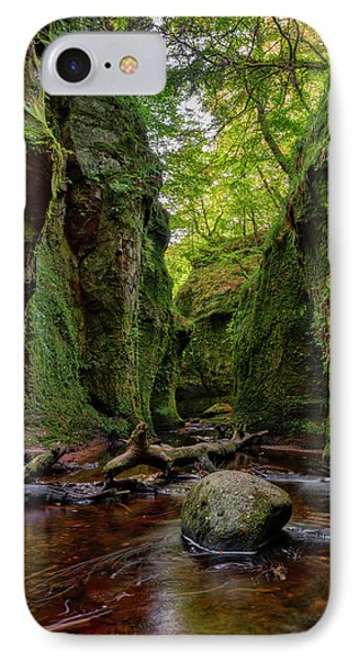 The Devil Pulpit At Finnich Glen IPhone 7 Case