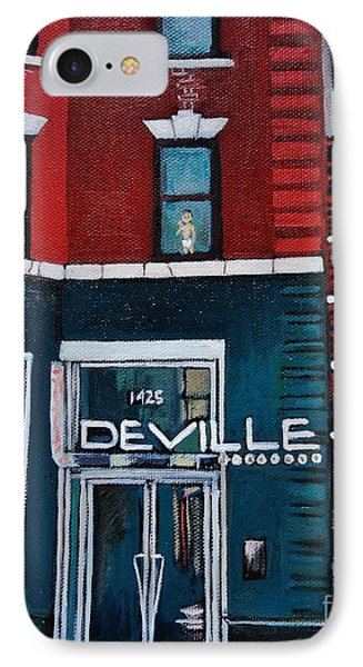 The Deville IPhone Case by Reb Frost