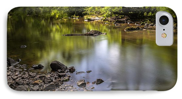 IPhone 7 Case featuring the photograph The Devon River by Jeremy Lavender Photography