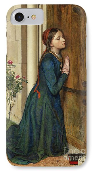 The Devout Childhood Of Saint Elizabeth Of Hungary, 1852 IPhone Case