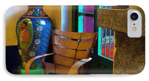 The Dining Room Corner In Frida Kahlo's House IPhone Case by John  Kolenberg