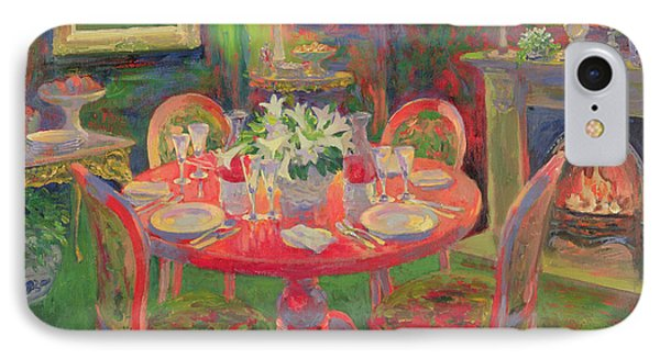The Dining Room IPhone Case by William Ireland