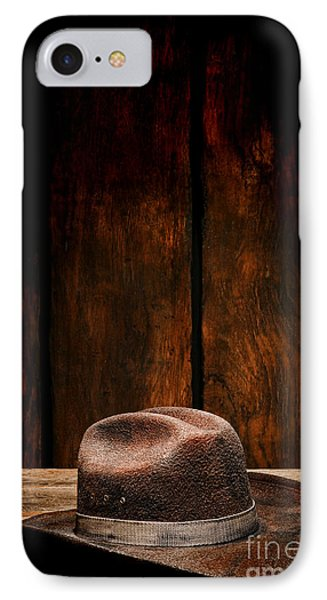 The Dirty Brown Hat IPhone Case by Olivier Le Queinec