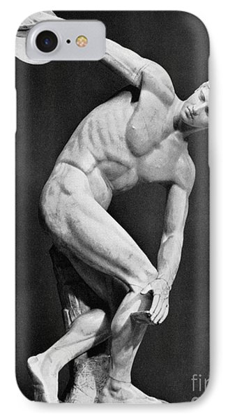 The Discobolus, 450.b.c Phone Case by Granger