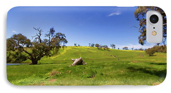 IPhone Case featuring the photograph The Distant Hill by Douglas Barnard