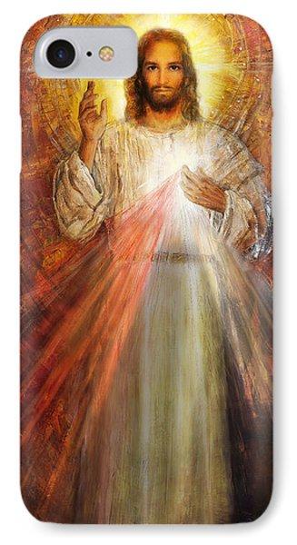 The Divine Mercy,  Jesus I Trust In You - 2 IPhone Case by Terezia Sedlakova Wutzay
