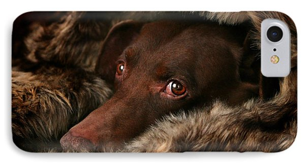 The Dog IPhone Case by Heike Hultsch