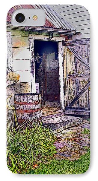 The Door Is Always Open IPhone Case by Nancy Griswold