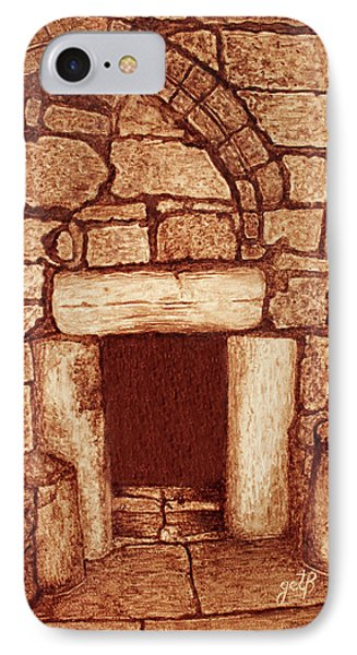 The Door Of Humility At The Church Of The Nativity Bethlehem IPhone Case by Georgeta Blanaru