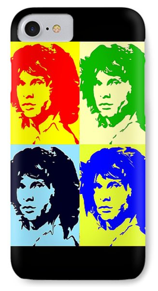 The Doors And Jimmy IPhone Case by Robert Margetts