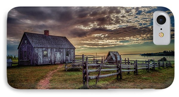 The Doucet House IPhone Case by Chris Bordeleau