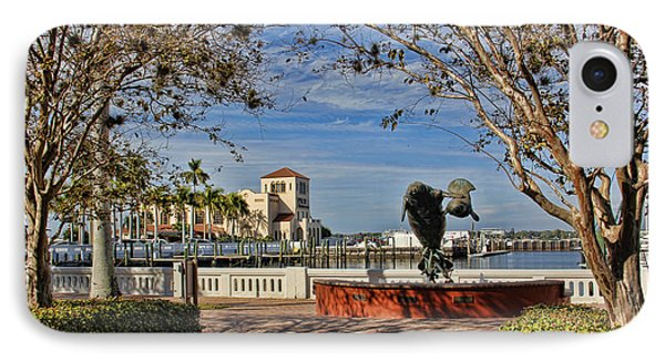 The Downtown Bradenton Waterfront IPhone Case