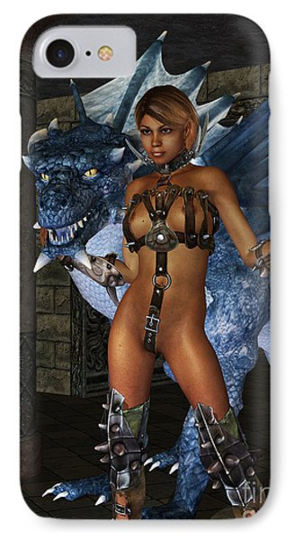 The Dragon Princess Phone Case by Alexander Butler