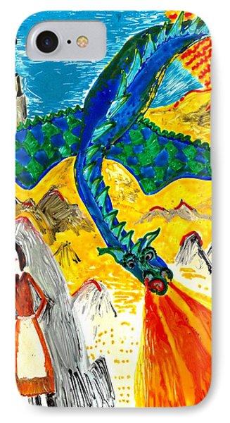 The Dragon Phone Case by Sushila Burgess