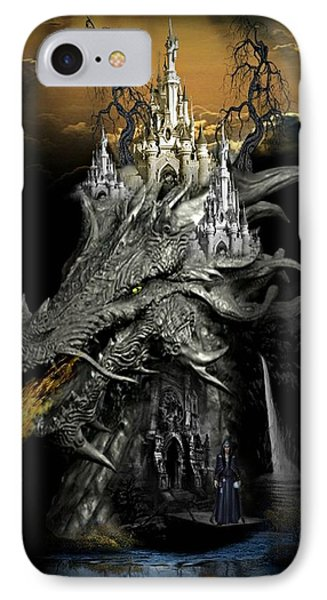The Dragons Castle Phone Case by Ali Oppy