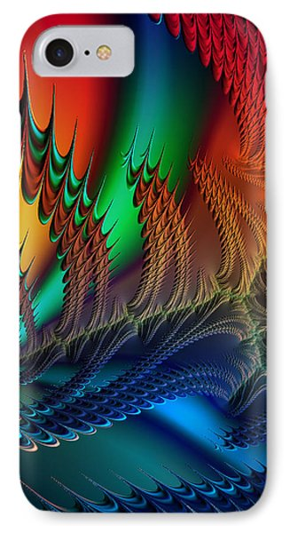The Dragon's Den IPhone Case by Kathy Kelly
