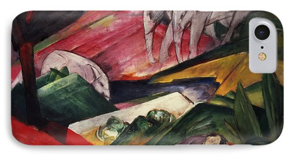 The Dream  IPhone Case by Franz Marc