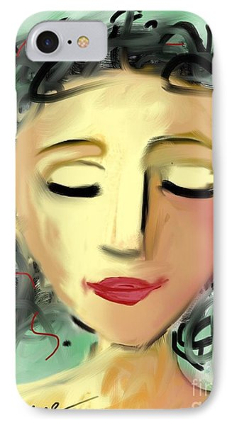 The Dreamer IPhone Case by Elaine Lanoue