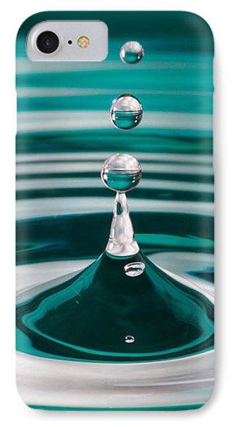 The Drop IPhone Case by Yvette Van Teeffelen