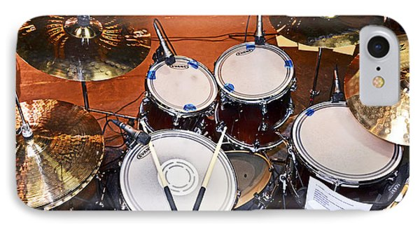The Drum Set IPhone Case