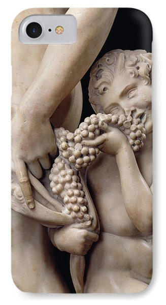 The Drunkenness Of Bacchus Phone Case by Michelangelo
