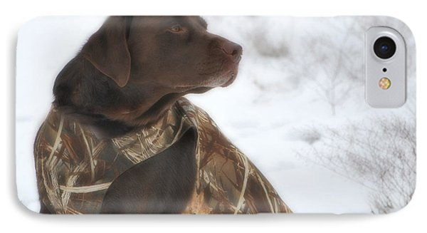 IPhone Case featuring the photograph The Duck Dog Iv by Donna Greene