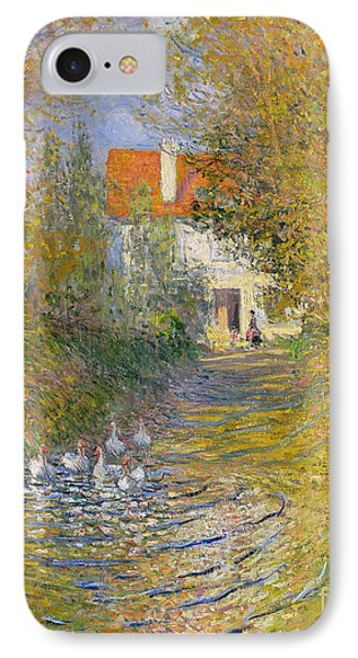 The Duck Pond IPhone Case by Claude Monet