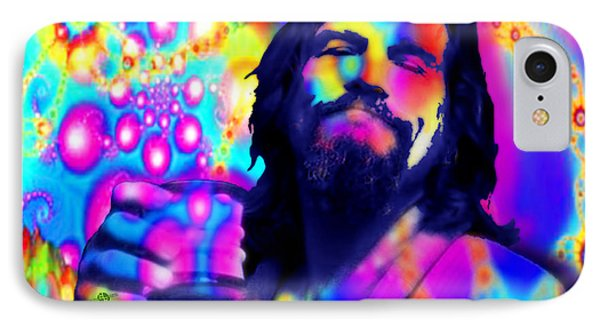 The Dude The Big Lebowski Jeff Bridges IPhone Case by Tony Rubino
