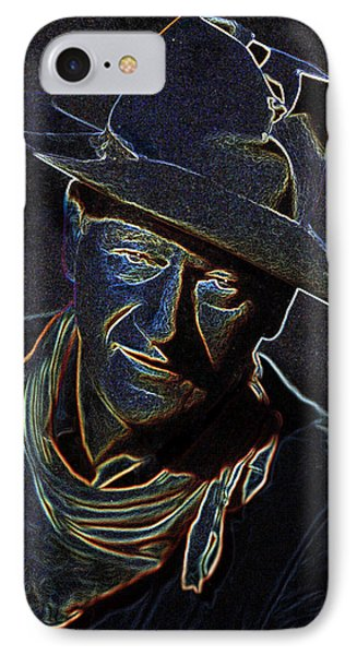 The Duke IPhone Case by Charles Shoup