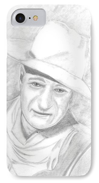 The Duke IPhone Case by Dale Ballenger