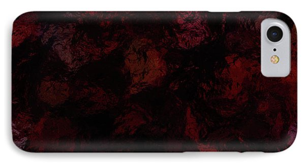 The Dying Coals Of Art IPhone Case by Diane Parnell