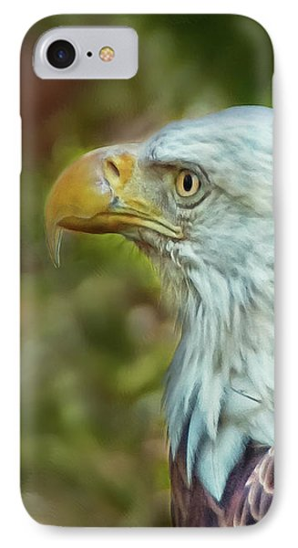 IPhone Case featuring the photograph The Eagle Look by Hanny Heim