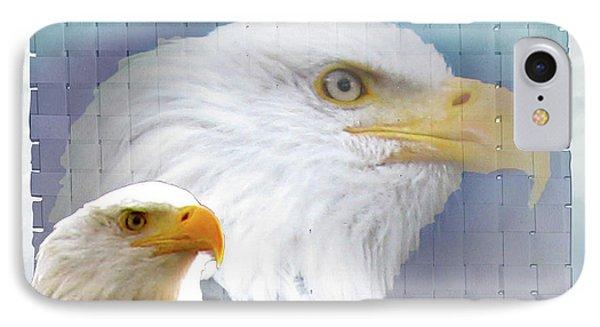 The Eagles Focus Phone Case by Debra     Vatalaro