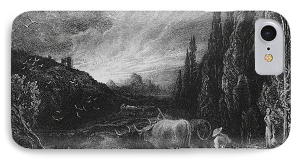 The Early Plowman IPhone Case by Samuel Palmer