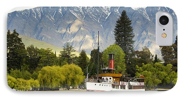 IPhone 7 Case featuring the photograph The Earnslaw by Werner Padarin