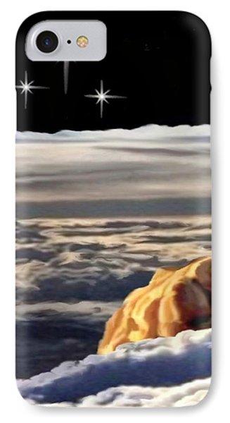The Eclipse At Calvary Sec I I IPhone Case