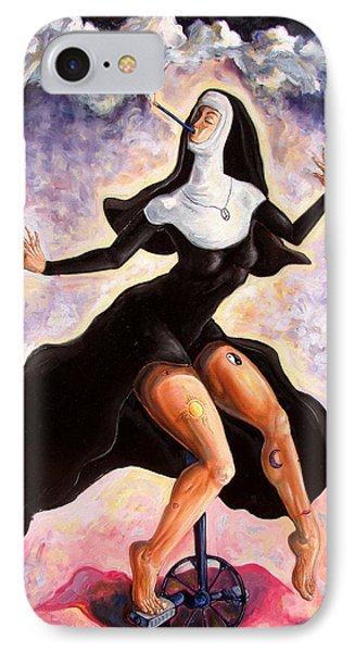 The Ecstasy Of Mother Liberation  Phone Case by Darwin Leon
