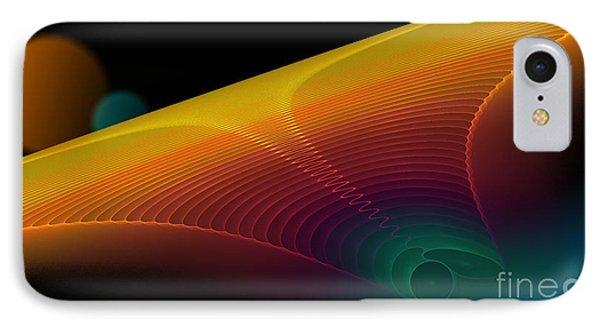 The Edge Of Existence Phone Case by Sandra Bauser Digital Art