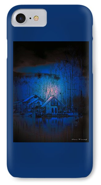 The Edge Of Night IPhone Case