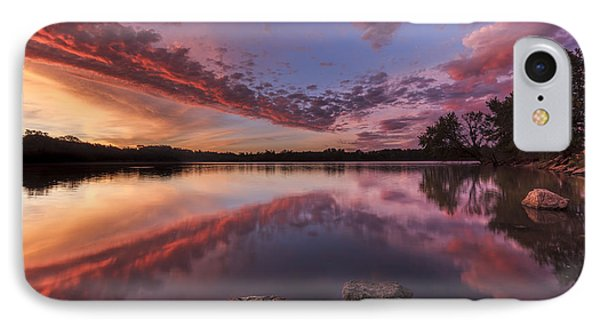 The Edge Of Sunrise IPhone Case by Scott Bean