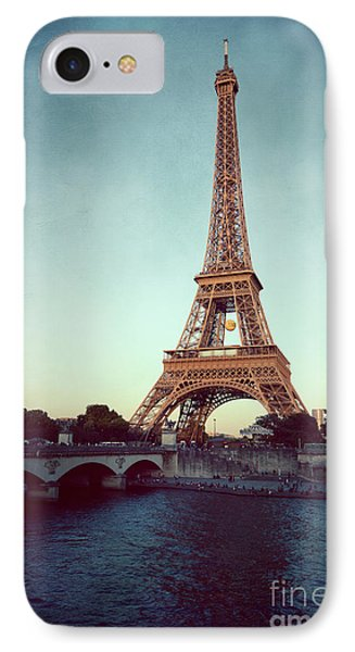 IPhone Case featuring the photograph The Eifeltower by Hannes Cmarits