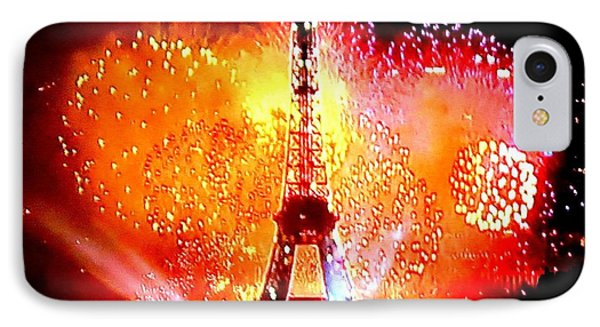The Eiffel Tower On July 14 By Taikan IPhone Case