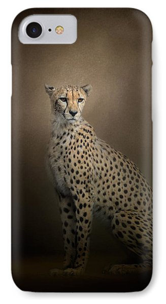The Elegant Cheetah IPhone Case by Jai Johnson