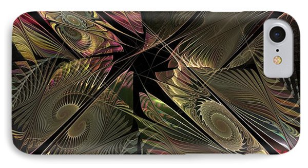IPhone Case featuring the digital art The Elementals - Calling The Corners by NirvanaBlues