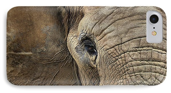 The Elephant IPhone Case by JC Findley