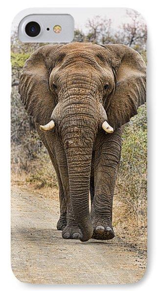 The Elephant Moves So Slowly IPhone Case