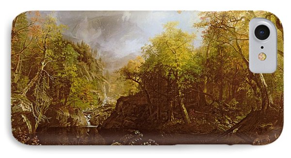 The Emerald Pool Phone Case by Albert Bierstadt